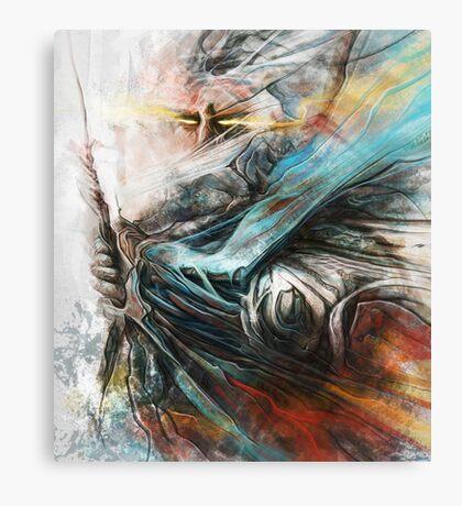Tomek Biniek - The Witcher Canvas Print