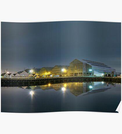 Chatham Historic Dockyard -night shot Poster