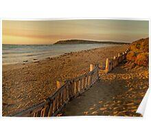 Sunrise Raafs Beach Poster