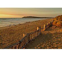 Sunrise Raafs Beach Photographic Print