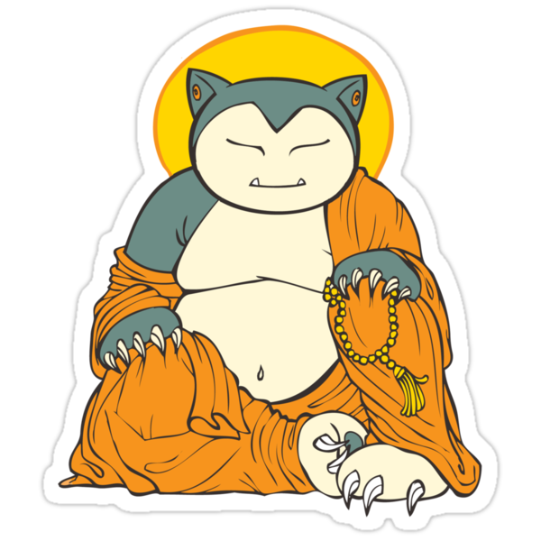 Hotei Snorlax by stablercake