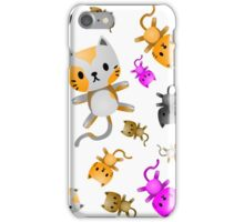 Kitten Juggling - So Many Cats iPhone Case/Skin