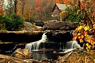 Glade Creek Grist Mill by Miles Moody