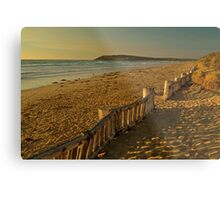 Raafs Beach Metal Print