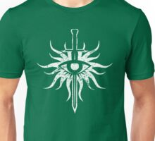 Dragon Age Inquisition : Inquisitor (White Worn) Unisex T-Shirt