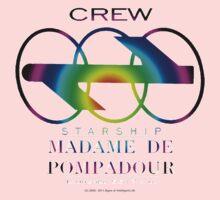 SS Madame De Pompadour - Crew Wear (Gradient) Kids Tee