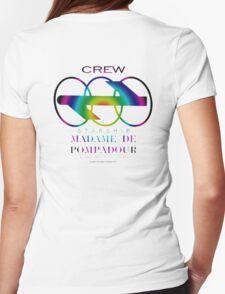 SS Madame De Pompadour - Crew Wear (Gradient) Womens Fitted T-Shirt