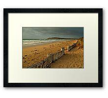 Morning Raafs Beach Framed Print