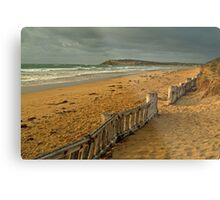 Morning Raafs Beach Metal Print
