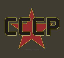 CCCP over the Red Star by SOIL