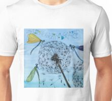 Leave room in your garden for the angels to dance Unisex T-Shirt