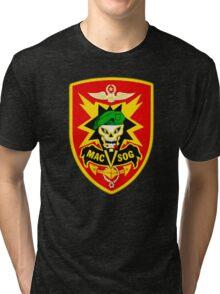 Macv-Sog Patch Tri-blend T-Shirt