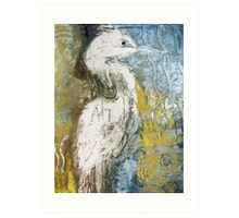 Waterbird One Art Print