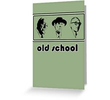 Old school architects Architecture T shirt Greeting Card
