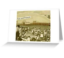 post card to edward hopper Greeting Card