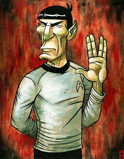 Mister Spock by stablercake