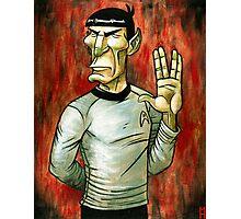Mister Spock Photographic Print