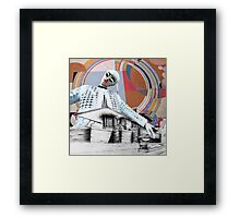 Homage to Frank Lloyd Wright Framed Print