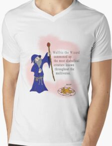 Wulfric the Wizard Mens V-Neck T-Shirt