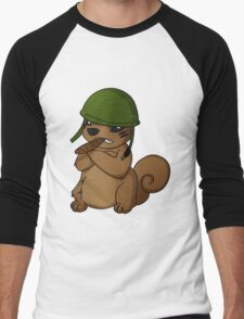 squirrel II Men's Baseball ¾ T-Shirt