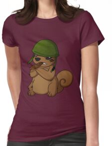 squirrel II Womens Fitted T-Shirt