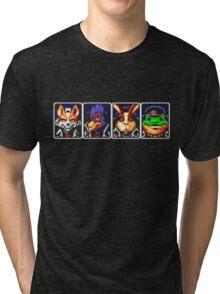 Team Star Fox Tri-blend T-Shirt