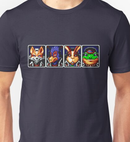 Team Star Fox Unisex T-Shirt