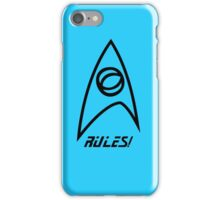 Science Rules! iPhone Case/Skin