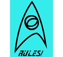 Science Rules! Photographic Print