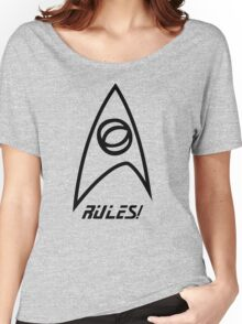 Science Rules! Women's Relaxed Fit T-Shirt