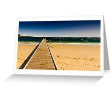 Little Beach Port Stephens Greeting Card