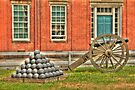 BOOOOOOM    Cannon in the Courtyard by Kim McClain Gregal