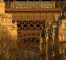 Paris - Eiffel Tower.  by Jean-Luc Rollier