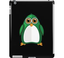 Green Penguin 2 iPad Case/Skin