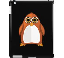 Brown Orange Penguin 2  iPad Case/Skin