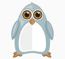 Baby Blue Penguin Kids Tee