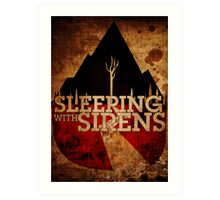Sleeping with Sirens Art Print