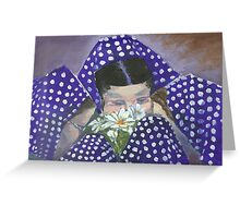 East End Colony Girl Friends Greeting Card