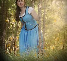 Belle from Once Upon a Time by owlfeathers