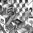 escher style (finally finished) by vian