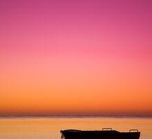 Sunrise Silhouette by Darryl Leach