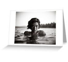 Shawna, Lake Saint George, Maine Greeting Card