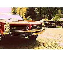 GTO (On The Bricks) Photographic Print