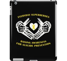 Suicide Awareness Superheroes iPad Case/Skin