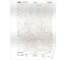 USGS Topo Map Oregon Rooster Comb 20110819 TM Poster