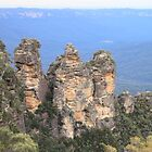 The 3 Sisters, Echo Point, Katoomba, NSW by Michelle Munday