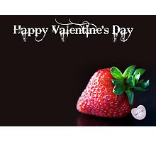 Happy Valentine's Day card Photographic Print