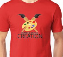 Weapons of mass creation - Red Unisex T-Shirt