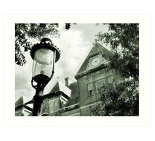Library in Riverside IL Art Print