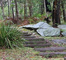 Stairs To Nowhere by Michelle Munday